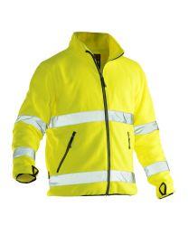 Jobman Hi-Vis Fleece Jacket Heren