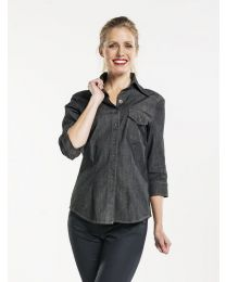 Blouse Women Chaud Devant Pure Denim Stretch