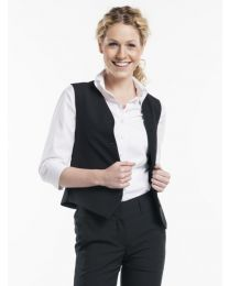 Gilet Chaud Devant Women Black