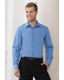 Overhemd Russel L/SL Poplin lange mouw Heren