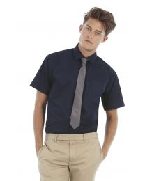 overhemd B&C Collection Sharp Twill Short Sleeve Shirt heren