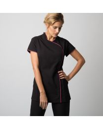 Wellness Tuniek Easycare Wrap Zip Dames